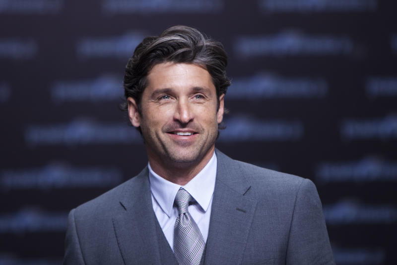 """FILE - In a June 25, 2011 file photo, Patrick Dempsey attends the German premier of the movie Transformer 3 in Berlin. Dempsey is bringing his passion for auto racing to television with a new documentary series. The Velocity channel said Thursday, April 5, 2012 that the """"Grey's Anatomy"""" star will produce """"Road to Le Mans,"""" a four-part series about his competition in the venerable French race next year. (AP Photo/Markus Schreiber, File)"""