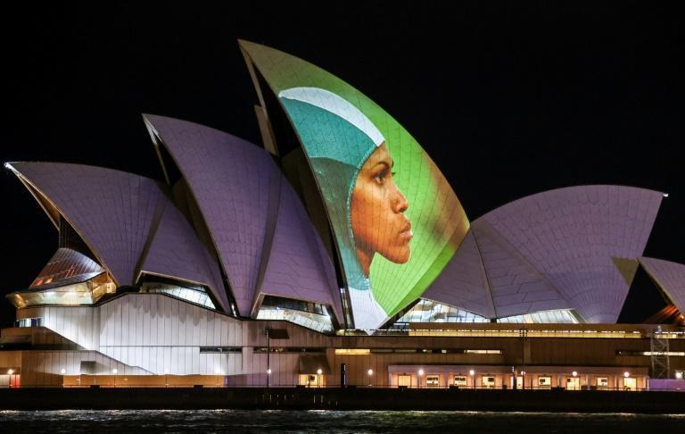 As footage of Freeman's 400m dash to Olympic glory was projected onto the Sydney Opera House, the National Film and Sound Archive celebrated the digitisation and successful storage of the video in synthetic DNA