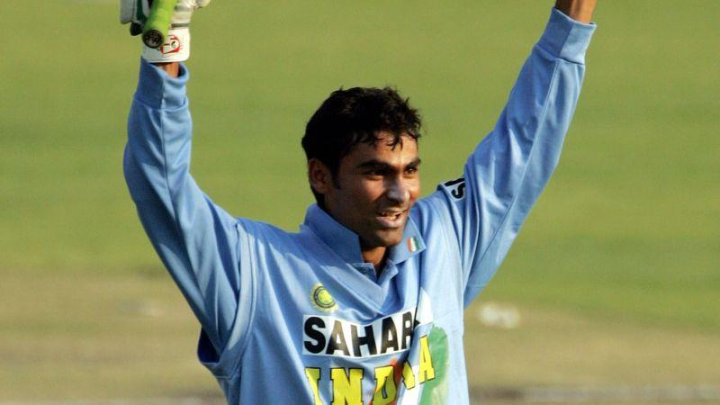 Kaif scored a match winning 102 against New Zealand in the Videocon Cup