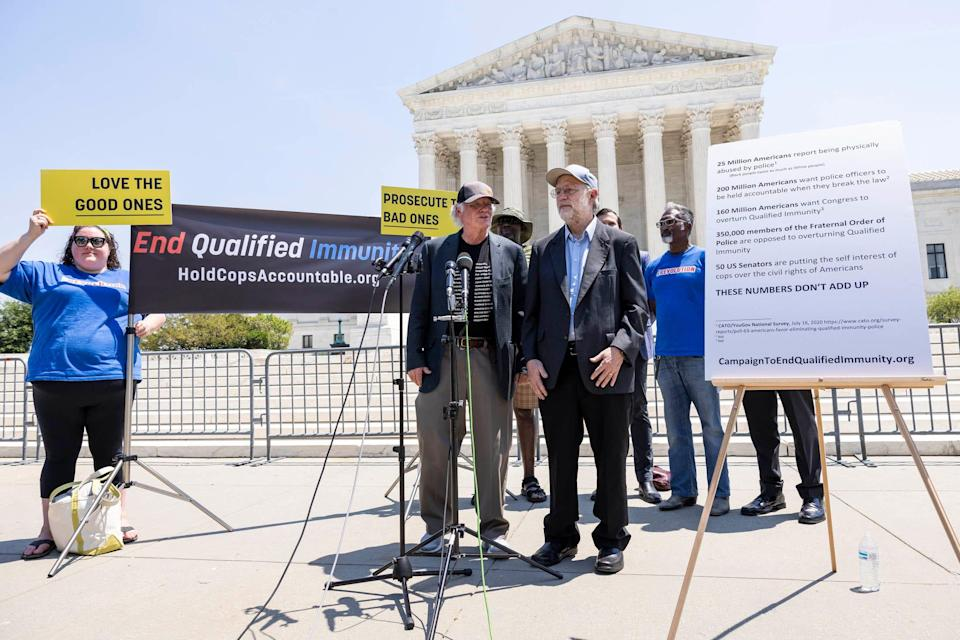 Ben Cohen and Jerry Greenfield, founders of Ben and Jerry's Ice Cream, are among those who have called for an overhaul in policing in the United States.