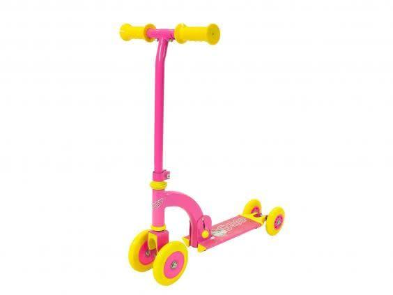 For little ones new to scooting, this colourful style is safe and easy to learn on (Amazon)