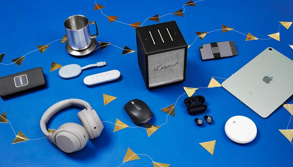 "<p>Even for the impossible-to-shop-for person, the latest tech gadgets always make for a great gift. Why? Well, no matter their interests, there's something for them. No gamer will turn down the <a href=""https://www.bestproducts.com/tech/electronics/a14435907/reviews-best-gaming-headsets/"" rel=""nofollow noopener"" target=""_blank"" data-ylk=""slk:latest headset"" class=""link rapid-noclick-resp"">latest headset</a>, no one will scoff when gifted <a href=""https://www.bestproducts.com/tech/gadgets/a28480389/wireless-earbud-earphone-reviews/"" rel=""nofollow noopener"" target=""_blank"" data-ylk=""slk:some quality earbuds"" class=""link rapid-noclick-resp"">some quality earbuds</a>, and any MacBook owner can always use <a href=""https://www.bestproducts.com/tech/electronics/g2286/apple-macbook-and-macbook-pro-accessories/"" rel=""nofollow noopener"" target=""_blank"" data-ylk=""slk:a few new accessories"" class=""link rapid-noclick-resp"">a few new accessories</a> to make the most of their laptop. </p><p>So whether you want to go big with a splurge item or you're looking to spend less than $50, you'll find something perfect for them when you shop our favorite tech gifts here.</p>"