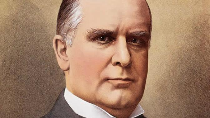 William McKinley, salah satu presiden Amerika Serikat. (Sumber Warren County Historical Society)