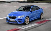 """<p>You can whine all day about how BMWs aren't as sporty as they used to be, but the brand has the most cars on this list. Three-pedal driving is still alive and well at the Bayerische Motoren Werke. In the 2-Series you can specify a six-speed manual in the rear-drive 230i and M240i coupes, the M240i convertible, the<a href=""""https://www.caranddriver.com/bmw/m2"""" rel=""""nofollow noopener"""" target=""""_blank"""" data-ylk=""""slk:M2 Competition"""" class=""""link rapid-noclick-resp""""><strong> M2 Competition</strong></a>, and the top-of-the-line M2 CS. The new 2-series Gran Coupe, however, is an automatic-only zone.</p>"""