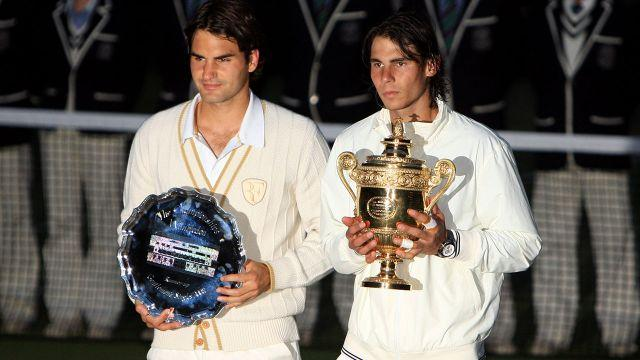 Nadal 'beat down' Federer in 2008. Image: Getty
