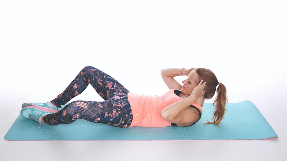butterfly crunch best workout for abs