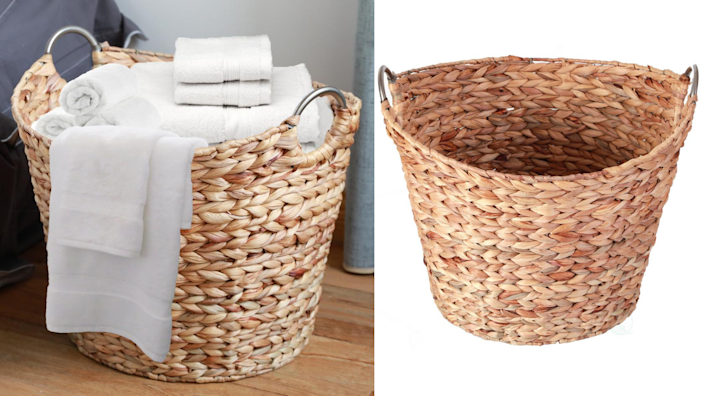 On top of being super cute, this basket is designed to be sturdy enough to hold up even with heavy use.