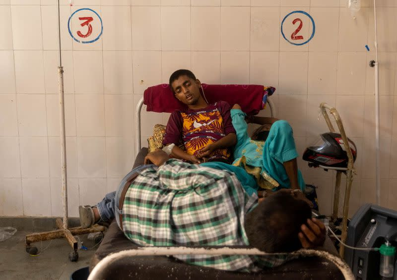 A Picture and its Story: Witnessing COVID chaos in India's hospitals, graveyards and crematoriums