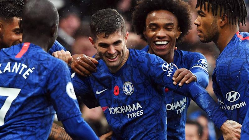 Christian Pulisic's goal helped Chelsea to a league victory over Crystal Palace
