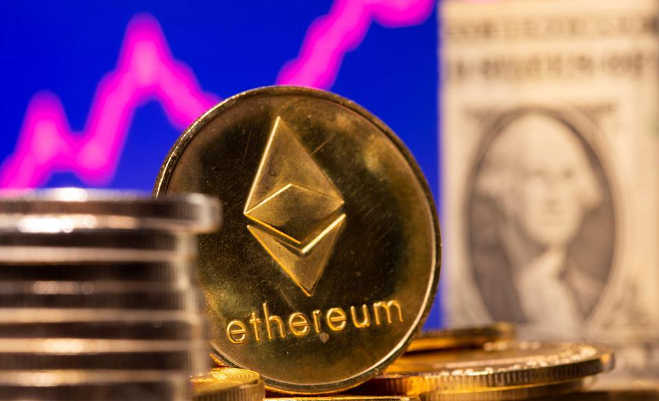 Ethereum's price rose to $2,796 on Thursday. Photo: Dado Ruvic/Illustration/Reuters