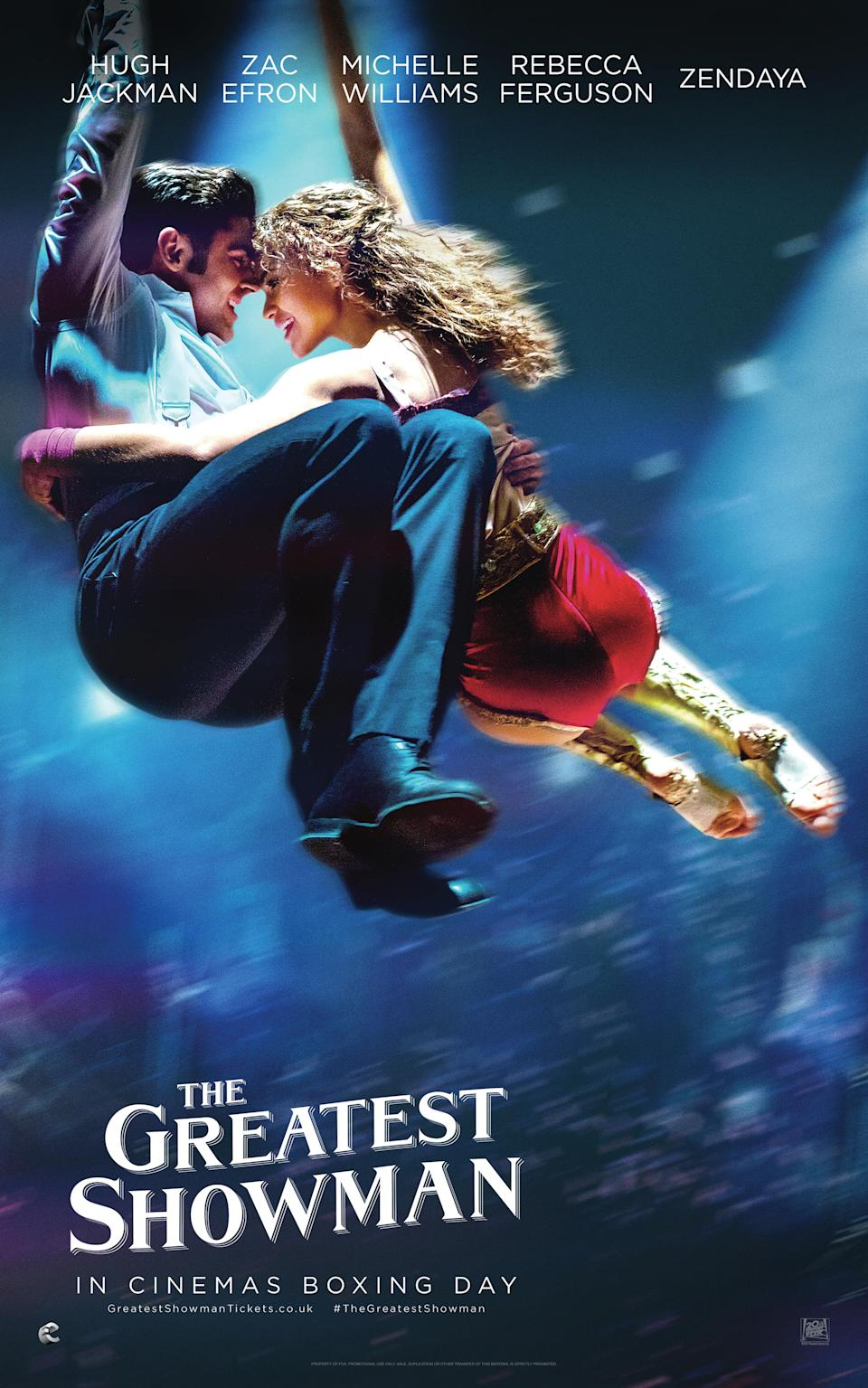 Zac and Zendaya play star-crossed lovers in the musical (20th Century Fox)