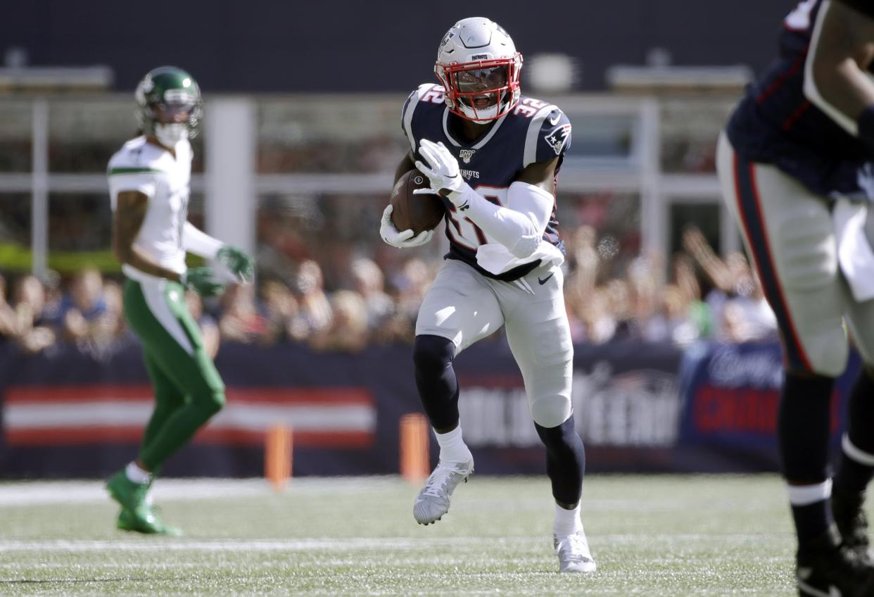 Devin McCourty is an anchor on the stingiest scoring defense in football. (AP Photo/Elise Amendola)