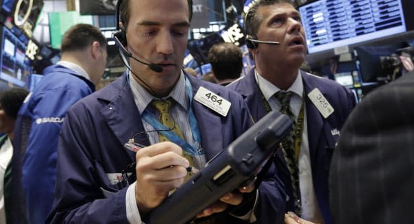 Wall Street traders stocks investing federal reserve economy syria