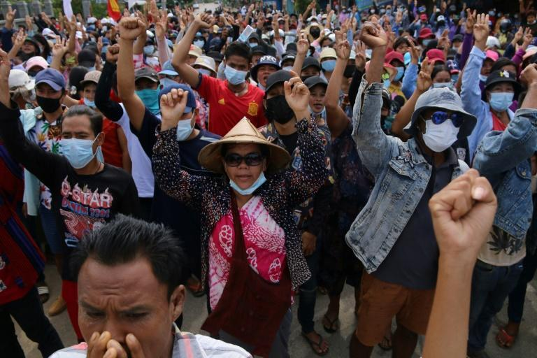 The junta has sought to quell anti-coup protests using lethal force, but the movement remains undeterred