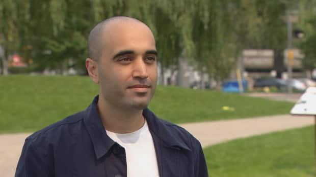Brandon Mattalo, a Toronto lawyer, has created a website, SafeTO-Do, that lists businesses that have fully vaccinated staff and require customers to show proof of vaccination. He says he has received his share of negativity online. (CBC - image credit)