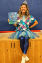 "<p>Felt fish ""scales"" and a colorful tulle skirt will turn you into the beloved Rainbow Fish.</p><p><em><a href=""https://www.instagram.com/ms_wayerski/?hl=en"" rel=""nofollow noopener"" target=""_blank"" data-ylk=""slk:See more at Ms_Wayerski on Instagram»"" class=""link rapid-noclick-resp"">See more at Ms_Wayerski on Instagram»</a></em></p>"
