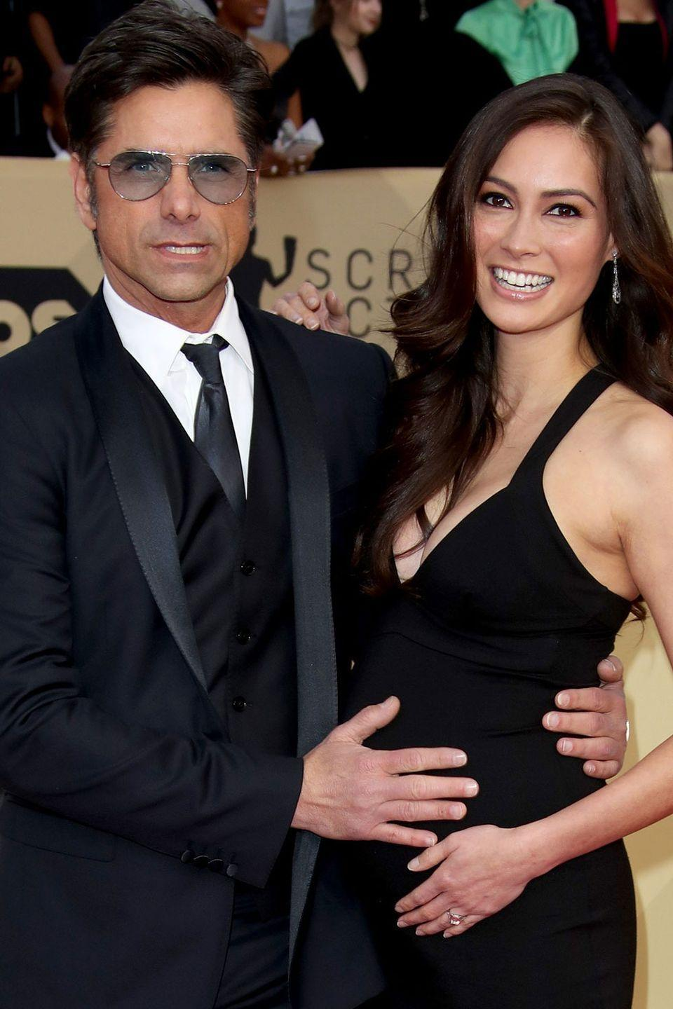 <p>He's barely aged since the '80s and she's got the same dark features he does. She's not Lori Loughlin, though, and we all just have to accept that. </p>