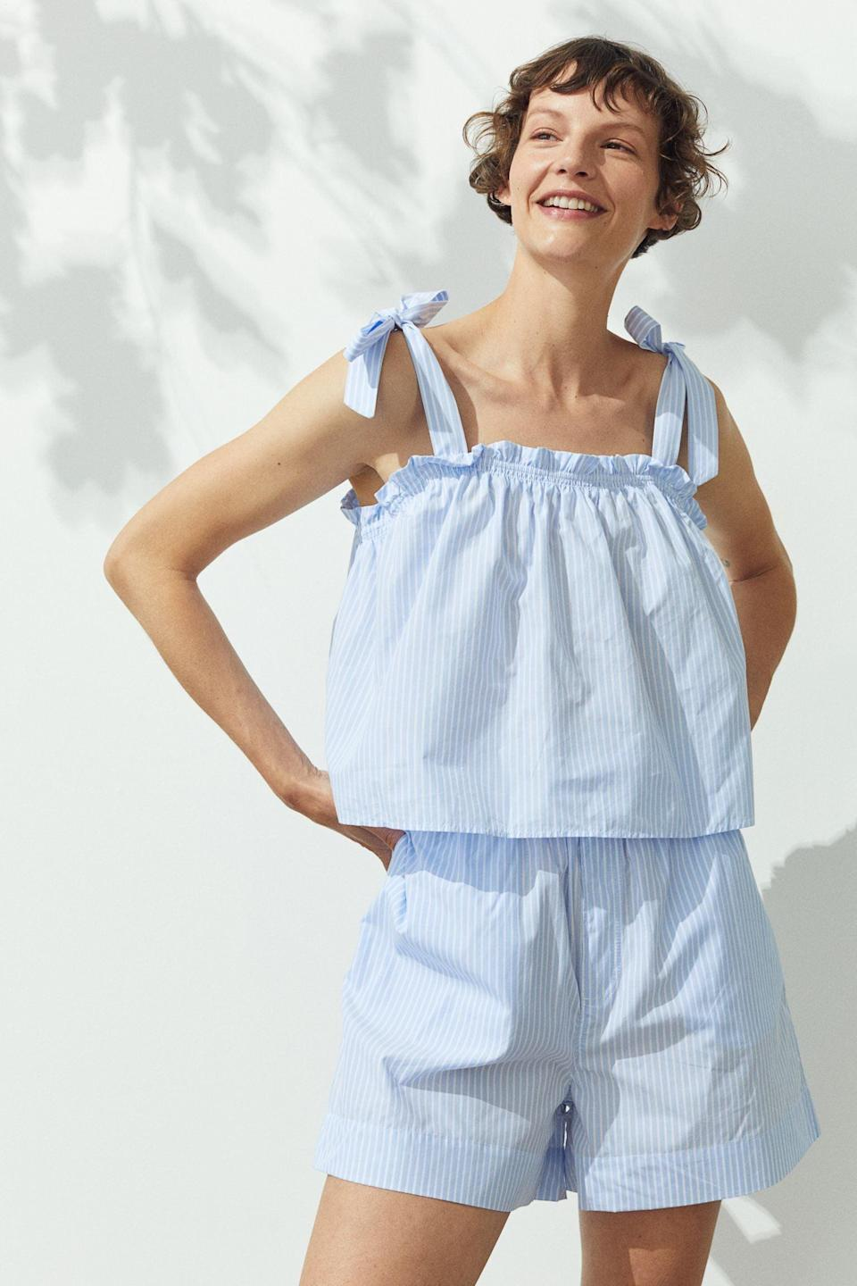 <p>Pair these <span>Cotton Shorts</span> ($25) with their matching top for the perfect summer two-piece set.</p>