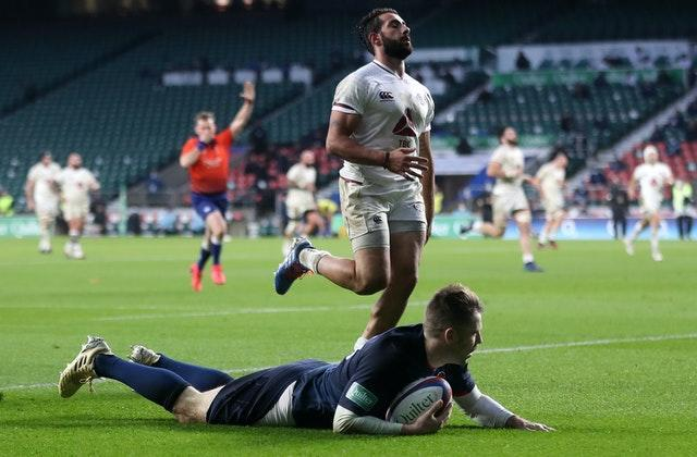 Georgia were unable to get on the scoreboard in the 40-0 defeat to England at Twickenham earlier this month