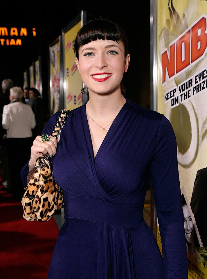 """<a href=""""http://movies.yahoo.com/movie/contributor/1809215786"""">Diablo Cody</a> at the Los Angeles premiere of <a href=""""http://movies.yahoo.com/movie/1809354225/info"""">Nobel Son</a> - 12/02/2008"""