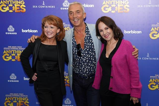 Anything Goes arrivals – London
