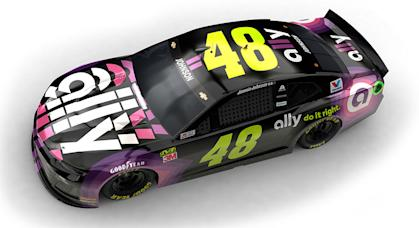 Jimmie Johnson Ally Paint Scheme 2
