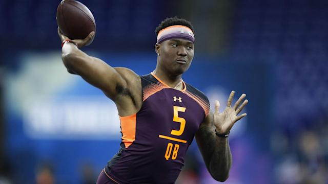 The Washington Redskins were able to pick up Dwayne Haskins with the 15th overall pick, but he felt he should have gone much earlier.