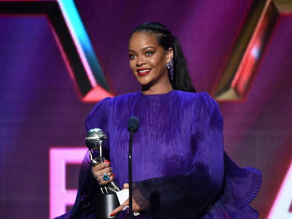 Rihanna at the 51st NAACP Image Awards, February 2020 (Getty Images for BET)