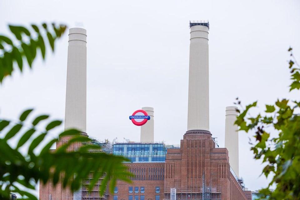 A crowd of 150 people gathered at 5am to become the first passengers to ride on the Northern line extension from Battersea Power Station (Charlie Round-Turner/roundturnervisuals.com)
