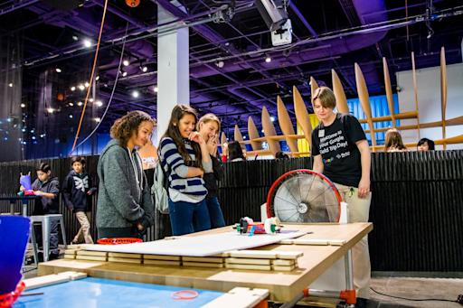 Thousands of students engage in STEM thanks to Google's Field Trip Days at The Tech