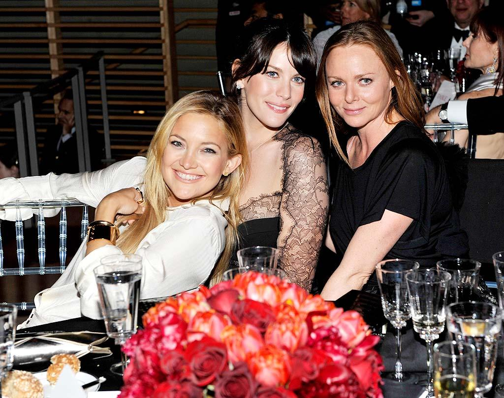 "Kate Hudson, Liv Tyler, and Stella McCartney are inseparable! The trio were also spotted together at the Met Gala the night before. Kevin Mazur/<a href=""http://www.wireimage.com"" target=""new"">WireImage.com</a> - May 5, 2009"