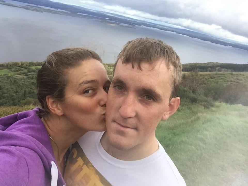 Mallory Franklin and fiance Ciaran Lee Edwards