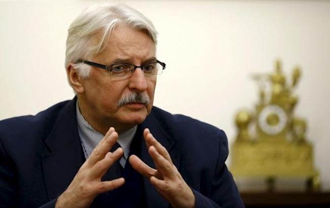 Poland's Foreign Minister Witold Waszczykowski speaks during an interview with Reuters in Warsaw, Poland December 30, 2015. REUTERS/Kacper Pempel