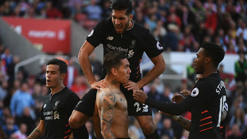 Stoke City 1 Liverpool 2: Coutinho and Firmino shine in comeback win