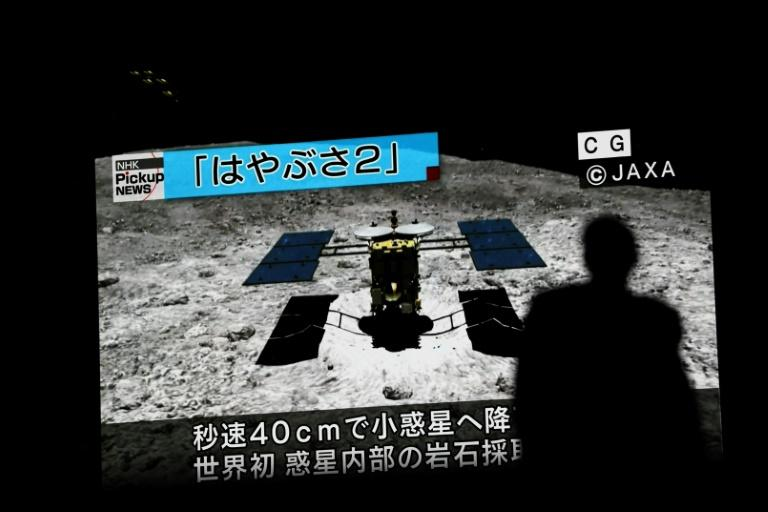 It took it the Hayabusa2 space probe three-and-a-half years to get to the asteriod Ryugu, but the return journey should be significantly shorter (AFP Photo/Behrouz MEHRI)