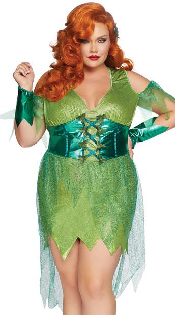 """<p><strong>plus size</strong></p><p>yandy.com</p><p><strong>$54.95</strong></p><p><a href=""""https://www.yandy.com/Plus-Size-Perfect-Poison-Costume.php"""" target=""""_blank"""">Shop Now</a></p><p>Live your best villain dreams in a green  </p>"""
