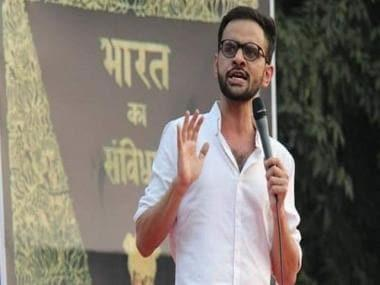 Are Umar Khalid, Safoora Zargar, Sharjeel Imam being groomed as netas by their opponents?