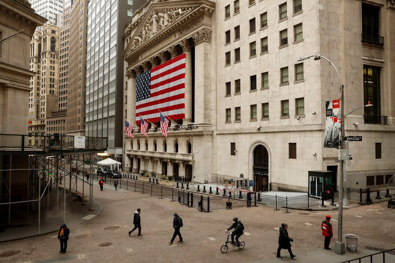 Wall Street gathers steam as U.S. states prepare to reopen