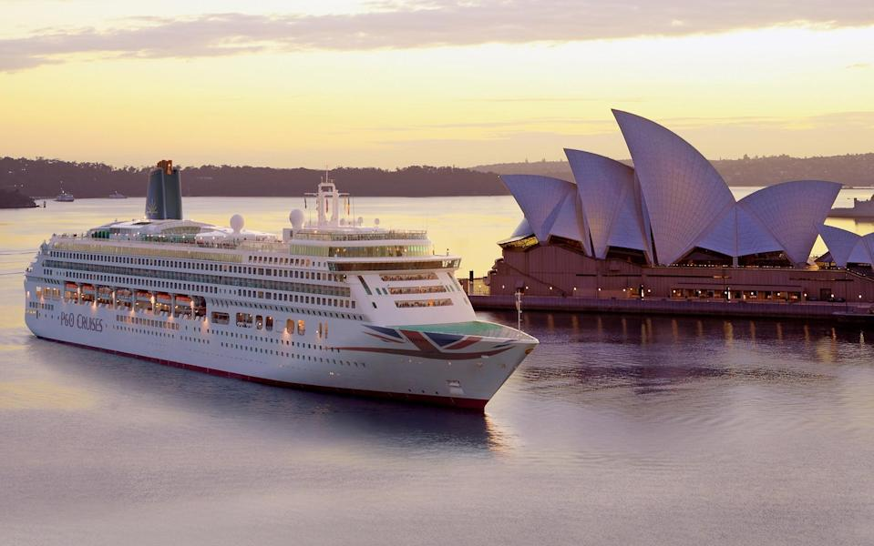 aurora in sydney - P&O Cruises