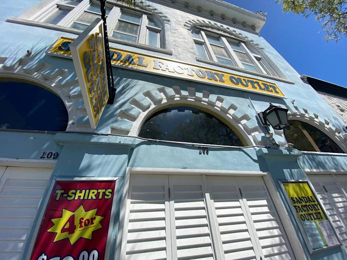 Retail stores were ordered to close by 5 p.m. March 23, 2020, in Key West due to the coronavirus.