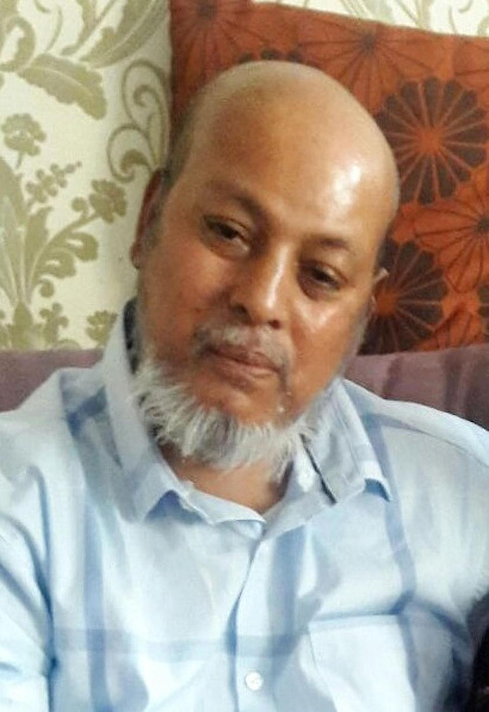 Osborne's victim Makram Ali, 51, who died as a result of multiple injuries