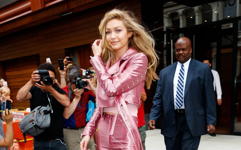 Gigi Hadid is one of the most high-profile Victoria's Secret models - GC Images