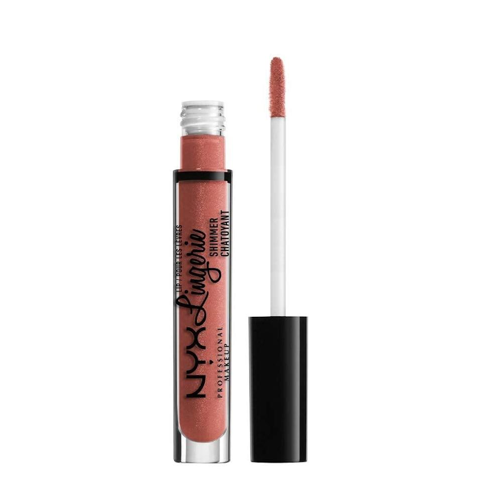 <p><span>NYX Professional Makeup Lip Lingerie Shimmer</span> ($7) delivers a lot of color and has a pillowy-soft finish. The brand's latest version of the liquid lipstick has a touch of shimmer that adds dimension to your lips.</p>