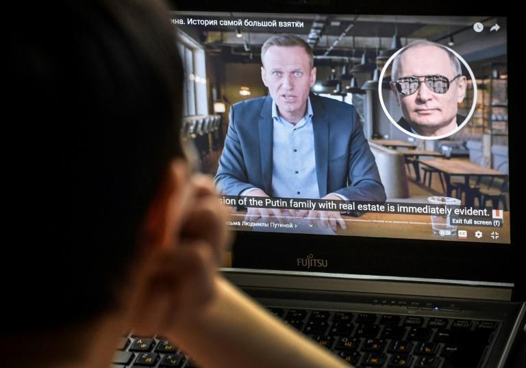 Alexei Navalny's two-hour video alleging President Vladimir Putin owns a vast palace on the Black Sea has been viewed more than 60 million times on YouTube since its publication on Tuesday