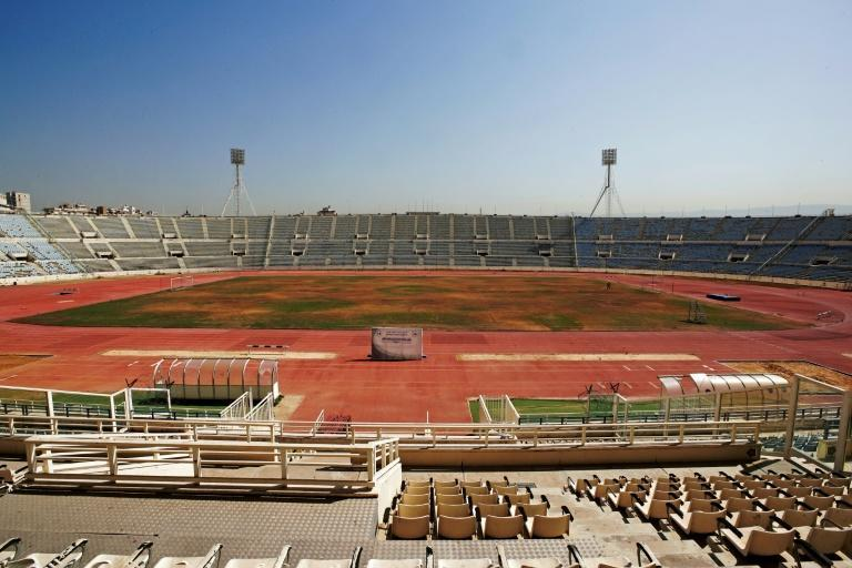 Camille Chamoun Sports City is just one of several nationwide to have fallen into disrepair as Lebanon faces an economic downturn of historic proportions (AFP/ANWAR AMRO)