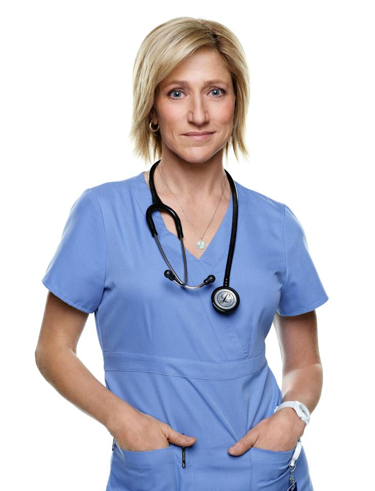 "Lead Actress in a Comedy Series: Edie Falco, ""Nurse Jackie"""