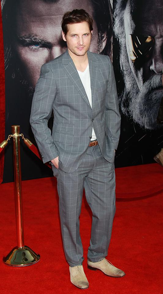 """<a href=""""http://movies.yahoo.com/movie/contributor/1800018788"""">Peter Facinelli</a> attends the Los Angeles premiere of <a href=""""http://movies.yahoo.com/movie/1810026342/info"""">Thor</a> on May 2, 2011."""
