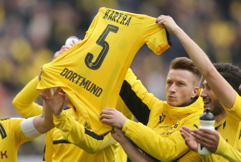 Dortmund's Spanish defender needed surgery after the bomb attack on the team's bus in April