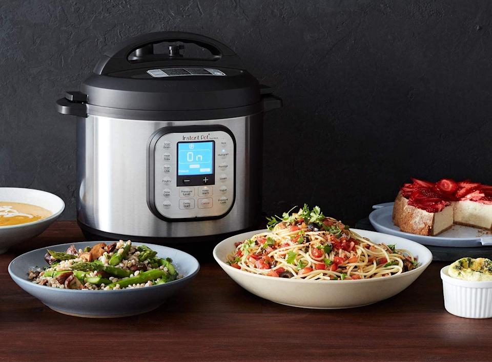 Instant Pot Duo Nova combines 7 kitchen appliances in one - and it's on sale.