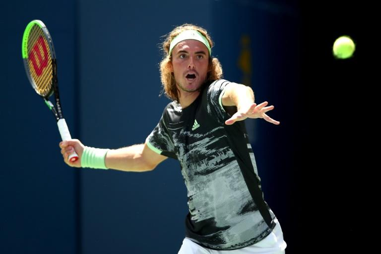 Greek eighth seed Stefanos Tsitsipas ripped into match umpire Damien Dumusois after suffering a first-round exit at the US Open on Tuesday